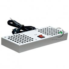 NTSS-SWFAN2/6-8-10 Вентиляторный модуль 2 элемента потолочный без термостата для настенных шкафов СТАНДАРТ/ПРЕМИУМ и напольных шкафов СТАНДАРТ глубиной 600/800/1000