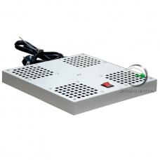 NTSS-SWFAN4/6-8-10 Вентиляторный модуль СТАНДАРТ 4 элемента потолочный без термостата для напольных шкафов с глубиной 600/800/1000мм