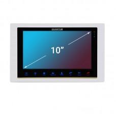 """QM-A100 Цветной 4-x проводный, 10"""" LCD TFT (1024х800) AHD-видеодомофон"""