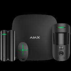 Ajax StarterKit Cam black Комплект сигнализации с фотоверификацией тревог