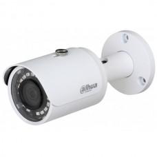 DH-HAC-HFW1000SP-0360B-S3 Видеокамера HDCVI Уличная цилиндрическая мультиформатная (4 в 1) 720P