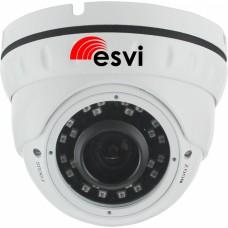 EVC-DNT-S20PVA Купольная IP-видеокамера 2Мп, PoE