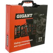 Набор столярных инструментов Gigant 77 предметов GPS 77