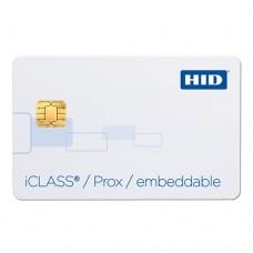 iCLASS SE 32k (16k/16+16k/1) Embeddable (iCLASS+EM-Marine) Композитная бесконтактная смарт-карта 2134BGGMVM-EM