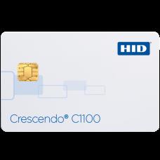 C1100 (PKI +iCLASS +DESFire EV1 +HID Prox/Indala) (401100J) Контактная смарт-карта