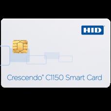 C1150 (PKI +iCLASS +DESFire EV1 +HID Prox/Indala) (401150J) Контактная смарт-карта