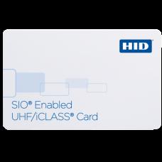 iCLASS SE UHF и iCLASS 32k bit (16k/2+16k/1) (UHFsio+iCLASS) (6013Hxxxx)  Бесконтактный двухчастотный идентификатор-смарт-карта 865-868МГц (UHF с SIO) и 13.56МГц (iCLASS 32Кб (16К/2+16К/1)