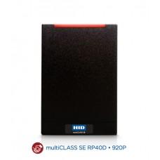 multiCLASS SE RP40 Комбинированный MOBILE-ENABLED считыватель Mobile Access (OrgIDxxxx/MOBxxxx) (Prox+Seos+MA+Bluetooth) 920PBN