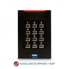 multiCLASS SE RPK40 Компактный комбинированный MOBILE-ENABLED считыватель c клавиатурой Mobile Access (OrgIDxxxx/MOBxxxx) (Prox+iCLASS+SIO+MA+OSDP+Bluetooth) 921PMP