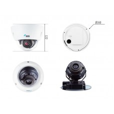 DC-D1323WHR 3-мегапиксельная купольная видеокамера