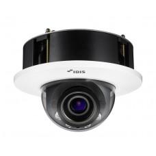DC-D6233FRX 2-мегапиксельная купольная врезная IP-видеокамера с поддержкой кодека H.265, ИК-подсветкой, широким динамическим диапазоном (True-WDR) и видеоаналитикой IDLA