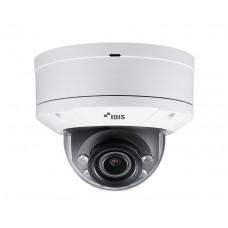 DC-D6233HRXL 2-мегапиксельная купольная IP-видеокамера антивандального исполнения с поддержкой кодека H.265, ИК-подсветкой, широким динамическим диапазоном (True-WDR), технологией LightMaster и видеоаналитикой IDLA