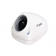 DC-M1222W(TG) купольная IP-видеокамера с вариофокальным объективом и закаленным стеклом разрешением 2 мегапикселя предназначенная для использования в транспортных системах.