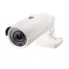 2Мп цилиндрическая IP-видеокамера антивандального исполнения с поддержкой кодека H.265, моторизованным трансфокатором с широким динамическим диапазоном (WDR) и видеоаналитикой IDLA