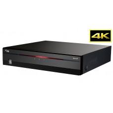 DR-2404P 4-канальный 4K IP-видеорегистратор с поддержкой кодека H.265, RAID 1