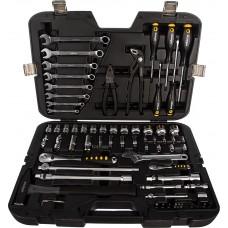 Набор инструментов Inforce 77 предметов 1/2 дюйма и 1/4 дюйма 06-07-19