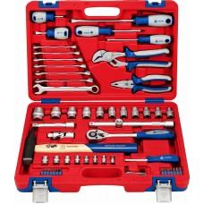 МАСТАК 01-058C набор инструментов универсальный, 58 предметов