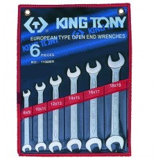 1106MR набор рожковых ключей, 8-23 мм, 6 предметов KING TONY