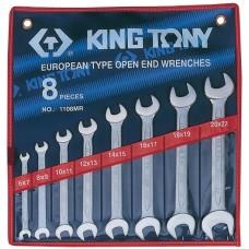 1108MR набор рожковых ключей, 6-22 мм, 8 предметов KING TONY