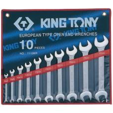 1110MR набор рожковых ключей, 6-28 мм, 10 предметов KING TONY