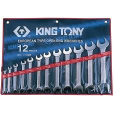 1112MR набор рожковых ключей, 6-32 мм, 12 предметов KING TONY