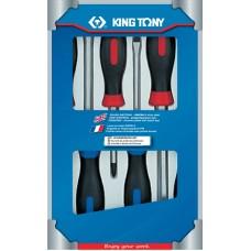 30206MR набор отверток, силовые, 6 предметов KING TONY