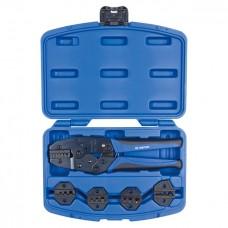 67G0005 кримпер храповичный для обжима изолированных наконечников, 5 предметов, кейс KING TONY