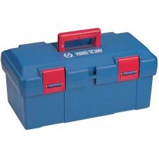 87407 ящик инструментальный, 445x240x206 мм, 2 отсека, полипропилен KING TONY