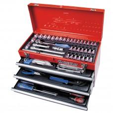 901-073MR набор инструментов универсальный, выдвижной ящик, 73 предмета KING TONY