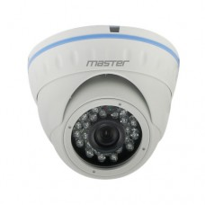 MR-HDNM5W Уличная купольная гибридная видеокамера 5Мп