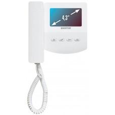 QM-433C Цветной 4-x проводный, 4.3'' TFT LCD (320х240) видеодомофон
