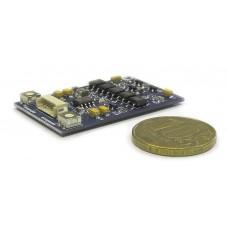 МСК СЛИМ  Модуль сопряжения индивидуального видеодомофона QUANTUM с общеподъездным многоквартирным домофоном