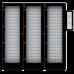 """KEYSYSL-540-NL Электронная ключница Серия""""L"""" до 540 ключей без блокировки с кодонаборной панелью в комплекте 540 брелков  (2 доп. шкафа)"""