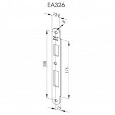 EA326 Запорная планка стандарта DIN