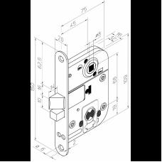2016 ABLOY цилиндровый замок для внутренних дверей
