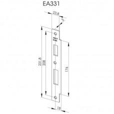 EA331 Запорная планка стандарта DIN