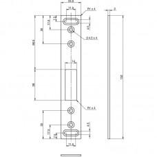 EA306 Запорная планка для дополнительных ригелей