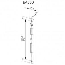EA330 Запорная планка стандарта DIN