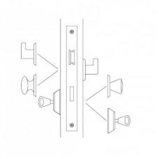 4202R ABLOY cимметричный замок с изменяемой сторонностью для тяжелого режима работы