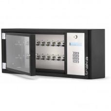 """KEYSYSM-10-NL Электронная ключница Серия M"""" до 10 ключей без блокировки с кодонаборной панелью в комплекте 10 брелков"""