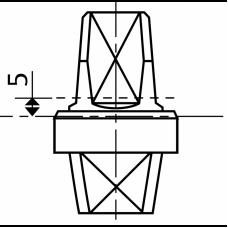 MA0361S0 (AC361) - шпиндель 5 мм