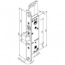 Механический антипаниковый замок LE315 ABLOY для одностворчатых профильных дверей