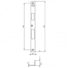 EA323 Запорная планка стандарта DIN