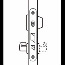 4190+4690 ABLOY Цилиндровый замок для одностворчатых дверей экстренного выхода с запорной планкой