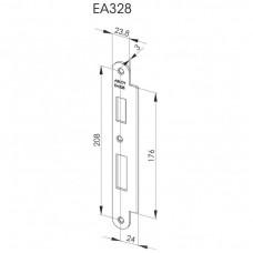 EA328 Запорная планка стандарта DIN