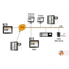 """SOFTWEB1-15 TrakaWeb годовая лицензия SQL Server 1-15 одновременных пользователей  (для систем """"Touch"""" если требуется)"""