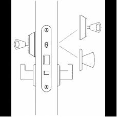 4190 ABLOY Цилиндровый замок с автоматическим запиранием защелки