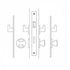 4207 ABLOY симметричный замок для дверей туалетных комнат