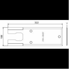 DCCP307 крышка для DC420