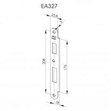 EA327 Запорная планка стандарта DIN